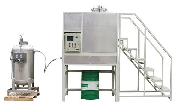 Hy450Ex-PLC水冷下排式溶剂回收设备