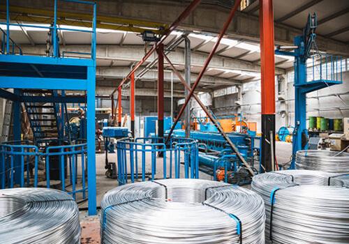 铝线拉丝厂